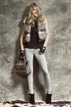 Lookbook de Guess Jeans de Otoño Invierno 2013 2014