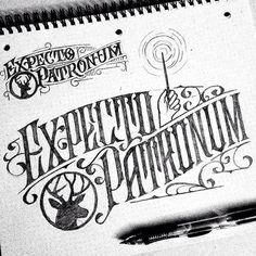 Love some harry potter. Type by @jonbensondesigns - #typegang - typegang.com | typegang.com #typegang #typography