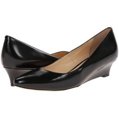 e9cb8b79de8  248.00 Cole Haan Bethany Wedge (Black Leather) Women s Wedge Shoes