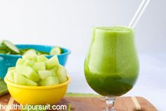 Green Energy | Omega Recipes   Blender:     1 cucumber, seeded and sliced     2 cups honeydew melon, cubed [about 1/2 a medium sized melon]     1/2 inch fresh ginger root     3 cups raw spinach     1 cup organic green tea     1 tsp lemon juice