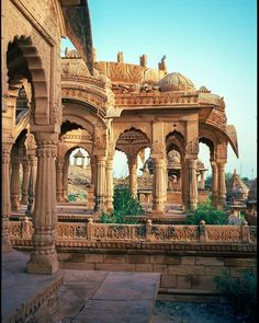 Bada Bagh, Jaisalmer is a garden complex about . - Bada Bagh, Jaisalmer is a garden complex about …. India Architecture, Ancient Architecture, Beautiful Architecture, Gothic Architecture, Varanasi, Udaipur India, India India, Jaipur, Places To Travel