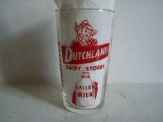Dutchland Dairy Stores Gallon Milk    advertising   measuring glass