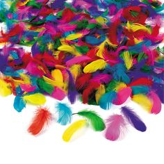 Bulk Feather Assortment - OrientalTrading.com DIY projects to bling out plain masks