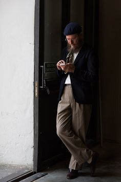 The glasses! (The Sartorialist Tuesday, August 12, 2014.)