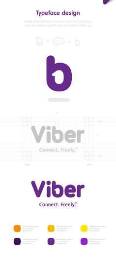 Viber Brand Identity and not only on Behance