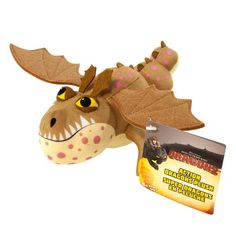 """DreamWorks Dragons: How To Train Your Dragon 2 - 8"""" Plush - Gronkle Dreamworks Dragons http://www.amazon.com/dp/B00FU0UZG4/ref=cm_sw_r_pi_dp_irJTtb03BM2N8DYG"""