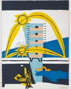 """Les Couleurs® Le Corbusier on Instagram: """"""""Le poème de l'angle droit""""  Lithographie, 48 x 38 cm Publisher: Tériade, 1955  The """"Poème"""" comprises around 150 pages and is divided into…"""""""