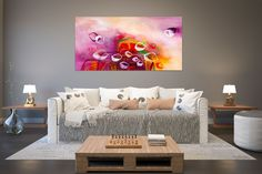This item is unavailable Office Wall Art, Office Walls, Modern Oil Painting, Interior Design Kitchen, Kitchen Designs, Original Paintings, Abstract Paintings, Large Art, Custom Art