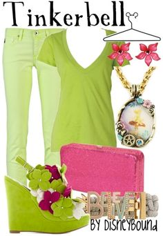 Tinkerbell, if you want to dress up as your favorite fairy :)