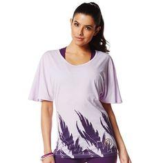 Zumba Fitness Sew Long Loose Tee - Purple Power