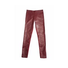 Wine Time Up your leather leggings game with this slimming pair in an unexpected wine hue.  Coy Legging, Marciano $198