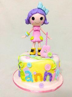 Lalaloopsy cake by The Bunny Baker