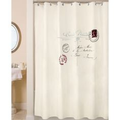 Park B. Smith Postale Shower Curtain  found at @JCPenney