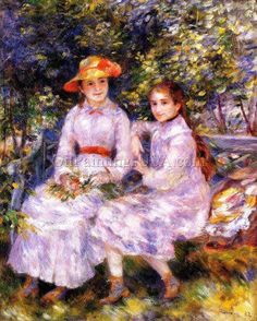 The Daughters of Paul Durand-Ruel also known as Marie-Theresa and Jeanne