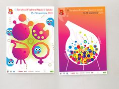 Torun Art and Science Festival posters