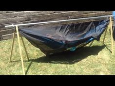 This is my take on the popular TurtleDog portable hammock stand. I needed a…