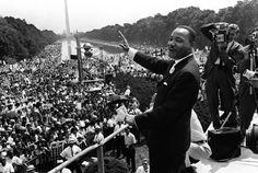 """A 50 años del emblemático discurso de Martin Luther King: """"Tengo un sueño: que mis cuatro hijos vivirán un día en una nación en la que no serán juzgados por el color de su piel sino por su reputación"""""""