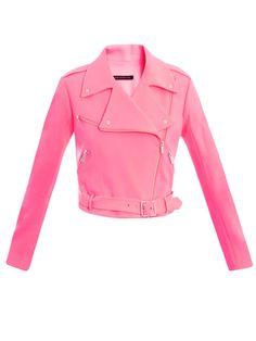 Christopher Kane... Pink AND a biker jacket?!?
