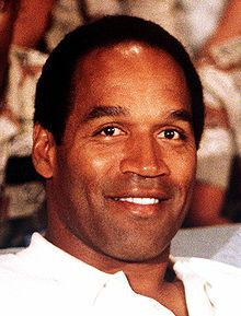 In 1995, Simpson was acquitted of the murder of Nicole Brown Simpson and Ronald Goldman after a lengthy, internationally publicized criminal trial – the People v. Simpson. In September 2007, Simpson was arrested in Las Vegas, Nevada, and charged with numerous felonies. In 2008, he was found guilty and sentenced to thirty-three years' imprisonment, with a minimum of nine years without parole. He is serving his sentence at the Lovelock Correctional Center in Lovelock, Nevada.