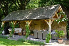 Outdoor Garden Rooms, Outdoor Gazebos, Outdoor Living, Outdoor Office, Outdoor Decor, Backyard Pavilion, Patio Gazebo, Backyard Patio, Garden Buildings