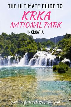 Situated halfway between Zadar and Split in Croatia, is the Krka National Park with the Krka River flowing through it. It is a karst region and the river has carved lakes, caverns, and cascades… Europe Destinations, Europe Travel Tips, European Travel, Travel Advice, Holiday Destinations, Italy Travel, Montenegro, Croatia Travel Guide, Split Croatia