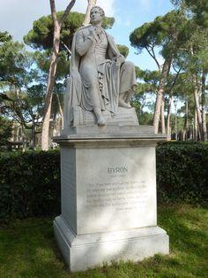 City Break à Rome Statue de Lord Byron Villa Borghesa