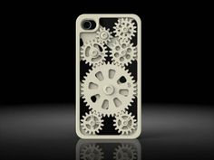 iPhone Case With Movable Gears Designed With Engineers In Mind