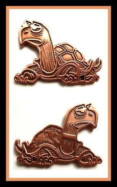 ZeeZee The Turtle Geocoin - AHU Edition. Top secret edition, only 10 geocoins minted of this version!