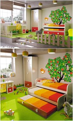 5 Fabulous Bedroom Ideas for Triplets with Triple Fun