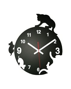 World Friendly World Cat & Mouse Chase Wall ClockAs You See | OwnModern.com