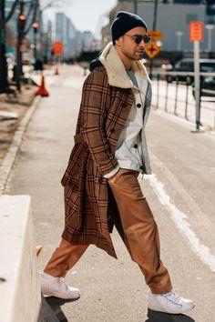 Street style #MensFashionCoat