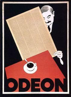 Café Bar Odeon, Zurich, Switzerland  1920