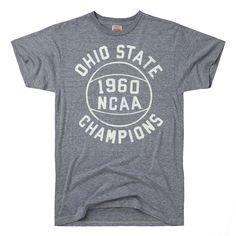 bff72286b HOMAGE Ohio State Buckeyes NCAA Championship Basketball T-Shirt Basketball  Shoes For Men