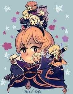 xay @ conquest (@xxaylu) | Twitter<<<Happy late bday Leo<<<Leo, Odin/Owain, Niles, Takumi, Elise, Corrin, Camilla, Xander