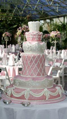 Over 25 Beautiful Pink Wedding Cake Ideas