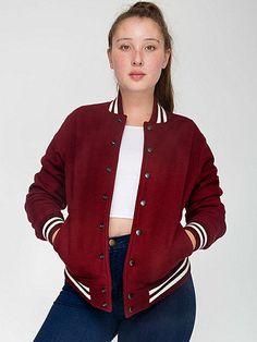 American Apparel - Unisex Heavy Terry Club Jacket