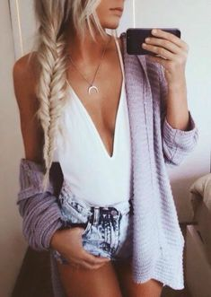 sexy casual chic. cozy sweater