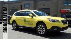 Bartlett Tree, Truck Decals, Car Wrap, Body Care, Yellow, Vehicles, Bath And Body, Vehicle