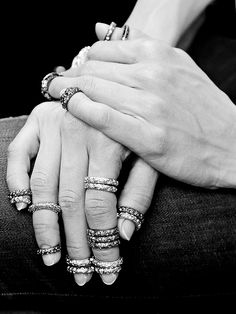 Rings at Chanel Haute Couture Fall/Winter 2013