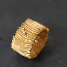 Efeu gold ring- Beatrice Knoch