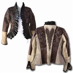 Cowgirl Couture Nordic Inspired ANNIE Oakley Jacket