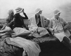 All those wonderful hats. Photograph for Vogue by Edward Steichen,