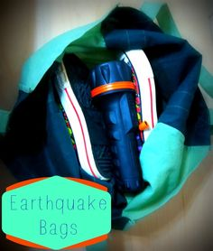 Day 19 - National Preparedness Month Challenge: Make an earthquake bag to place under every bed in your home | PreparednessMama.com