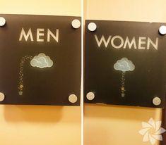 En yaratıcı tuvalet işaretleri