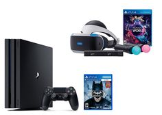 PlayStation VR Launch Bundle 3 Items:VR Launch Bundle,PlayStation 4 Pro 1TB,VR Game Disc Arkham VR   Includes: VR headset, Processor unit, VR headset connection cable, HDMI cable, USB cable, Stereo Read  more http://themarketplacespot.com/playstation-vr-launch-bundle-3-itemsvr-launch-bundleplaystation-4-pro-1tbvr-game-disc-arkham-vr/