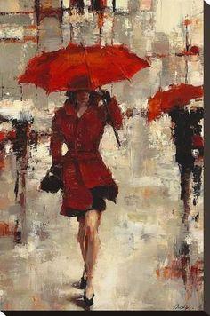 Stretched Canvas Print: Paris Invitation by Lorraine Christie : 24x16in