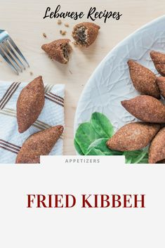 Delicious and savoury fried kibbeh, Lebanese style. They are essentially meat dumplings packed with flavour and make the perfect appetizer bites! Kebab Recipes, My Recipes, Appetizer Recipes, Appetizers, Kibbeh Recipe Lebanese, Lebanese Recipes, Grilled Flatbread, Lamb Kebabs, Armenian Recipes