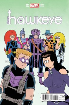All-New Hawkeye Vol. 2 # 2 (Variant) by Fred Hembeck