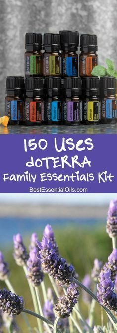 150 uses of doTERRA's Family Essentials kit