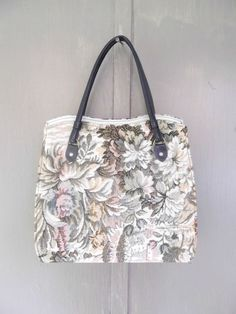 1960s Large Tapestry Handbag Vintage Vegan by looseendsvintage, $39.00